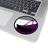 Asexual Pride UU Chalice Kiss-Cut Stickers