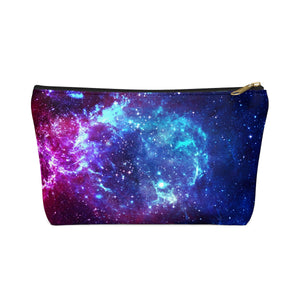 Bisexual Pride Galaxy Accessory or Makeup Pouch w T-bottom
