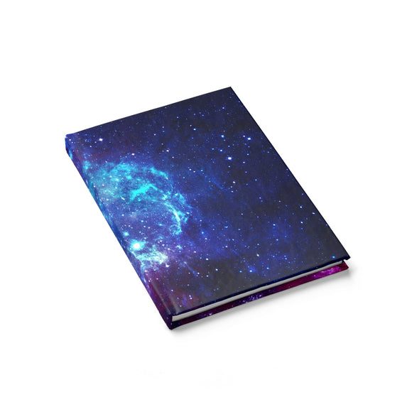 Bisexual Pride Galaxy Journal - Line Ruled