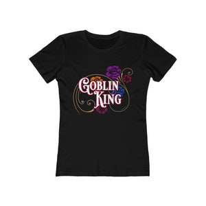 Goblin King Fitted Crewneck Tee