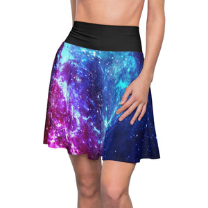 Bisexual Pride Galaxy Skater Skirt