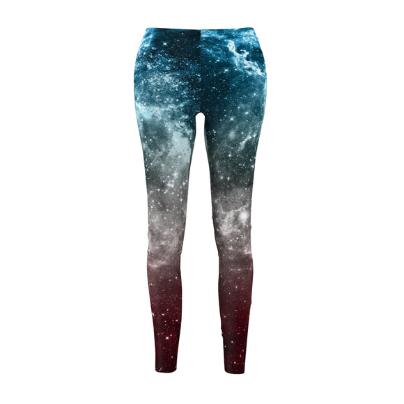 Transgender Pride Pride Galaxy Casual Leggings