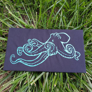 Embroidered Octopus Wall Hanging