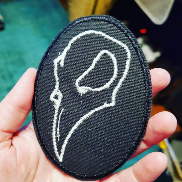 Crow Skull Patch