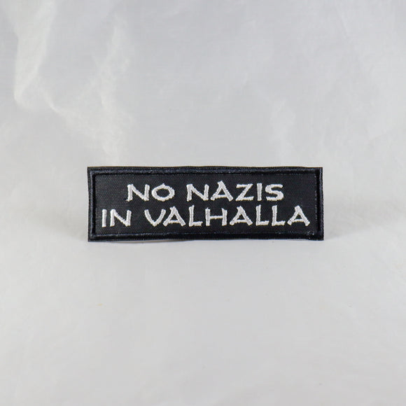 No Nazis in Valhalla Text Patch