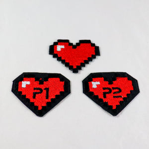 8-Bit Heart Patch