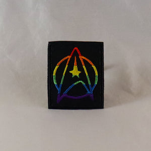 Pride Starfleet Chevron Patch