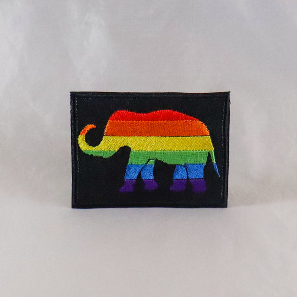 Pride Elephant Patch