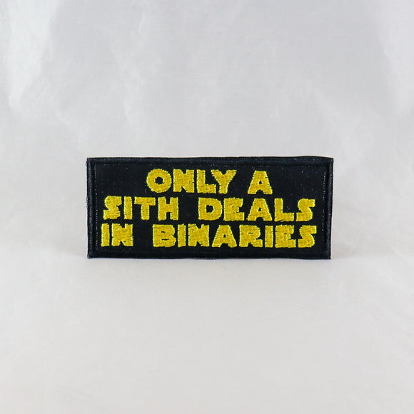 Only A Sith Deals In Binaries Patch