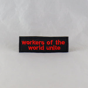 Workers of the World Unite Patch