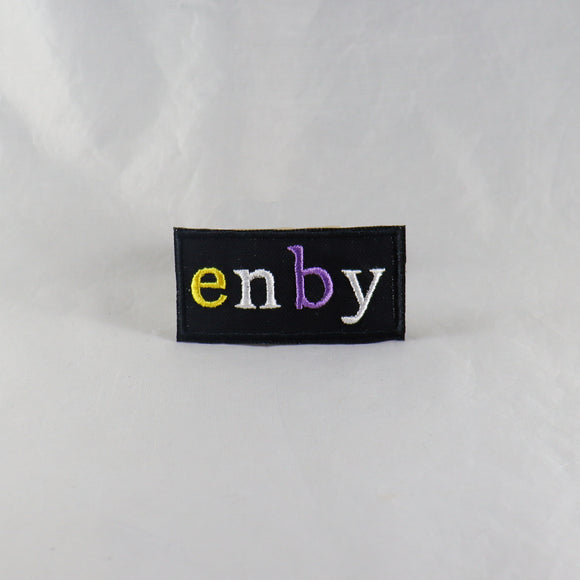 Non-Binary Pride Enby Patch