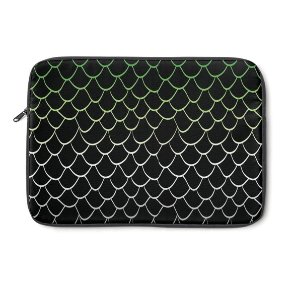 Aromantic Pride Dragonscale Laptop Sleeve