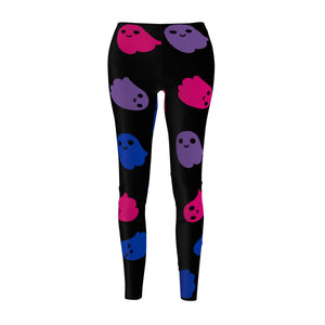 Bisexual Pride Ghosts Casual Leggings