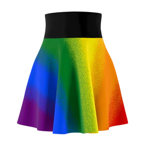 Rainbow Gay Pride Flag Skater Skirt