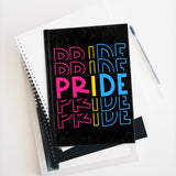 "Pansexual Pride ""PRIDE"" Journal - Blank"