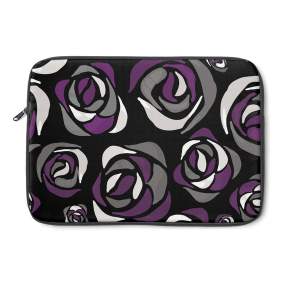 Asexual Pride Pride Roses Laptop Sleeve