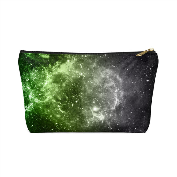 Aromantic Pride Galaxy Accessory or Makeup Pouch w T-bottom