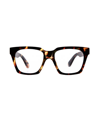 10am Brown Tort Reading Glasses/2.5