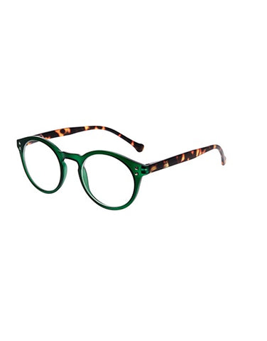 7am Green Reading Glasses/1.5