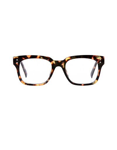 6am Brown Tort Reading Glasses /2.5