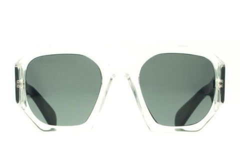 Hostage Sunglasses /Clear Green