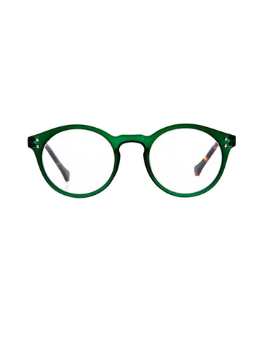 7am Green Reading Glasses /1.5
