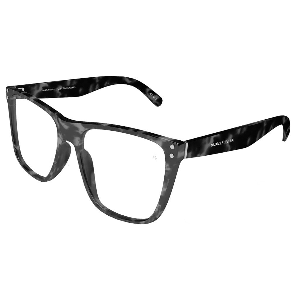The Visionary - Gunmetal Tort/Clear
