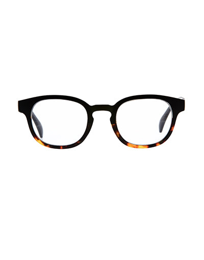 9am Black to Tort Reading Glasses /1.5