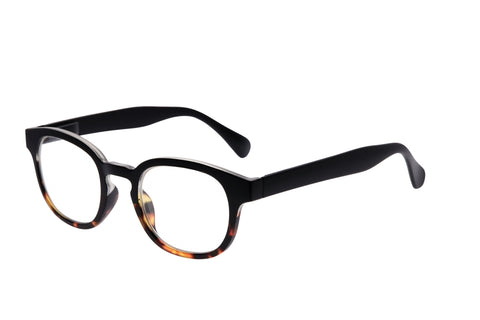 9am Black to Tort Reading Glasses/2.5