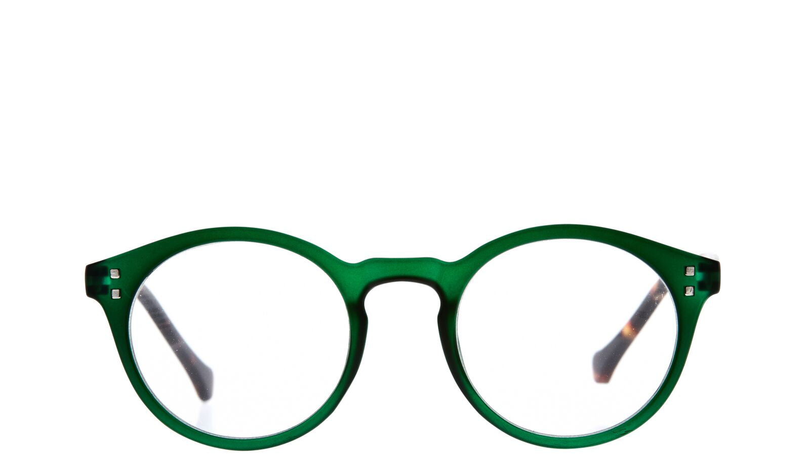 7am Green Reading Glasses/2.5