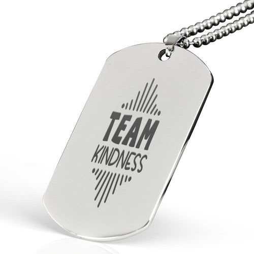 Team Kindness Dog Tag