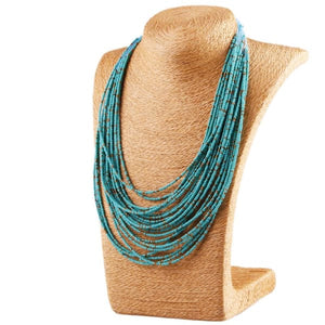 Bohemian Layer Beaded Necklace - Necklace