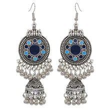 Load image into Gallery viewer, Boho Vintage Style Earrings - Blue 1 - earrings