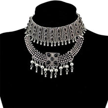 Load image into Gallery viewer, Gypsy Boho Chunky Choker - N-6575-S - Necklace