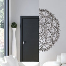 Load image into Gallery viewer, Half Mandala Flower Pattern Wall Decal - Wall Decor