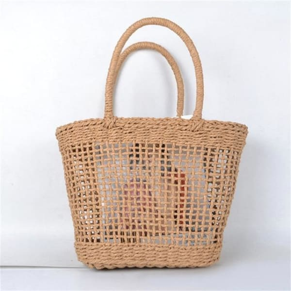 Popular Straw Tote - no lining - bag