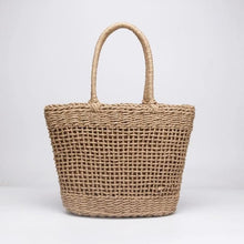 Load image into Gallery viewer, Popular Straw Tote - With lining - bag