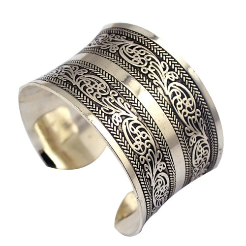 Tibetan Carved Bangle
