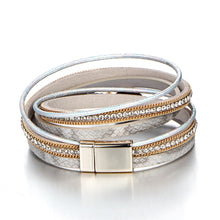 Load image into Gallery viewer, Energy Multilayer Leather Wrap Bracelet