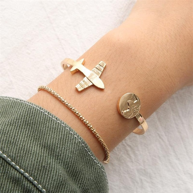Two Piece Travel Bracelet