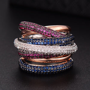 Lux Statement Stackable Rings