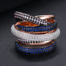 Load image into Gallery viewer, Lux Statement Stackable Rings