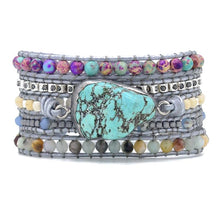 Load image into Gallery viewer, Bandha Natural Stone Wrap Bracelet