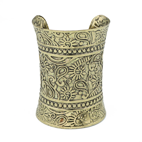 Ethnic Wide Open Cuff