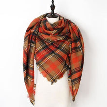 Load image into Gallery viewer, Stunning Plaid Cashmere Blend Scarf - number 29 - scarf