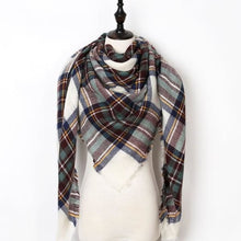 Load image into Gallery viewer, Stunning Plaid Cashmere Blend Scarf - number 31 - scarf