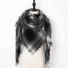 Load image into Gallery viewer, Stunning Plaid Cashmere Blend Scarf - number 32 - scarf