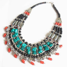 Load image into Gallery viewer, Tibetan Multi-Layer Beaded Necklace - Necklace