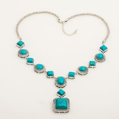 Turquoise Necklace - Necklace