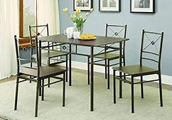 Dinette Set 5 Piece 100033 by Coaster NEW IN BOX